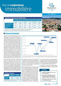 Note conjoncture immobilière n°51